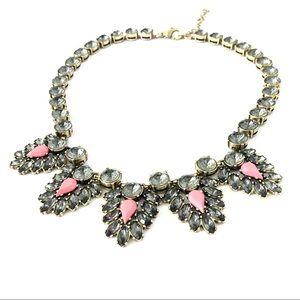 J. CREW lavender & pink heirloom necklace